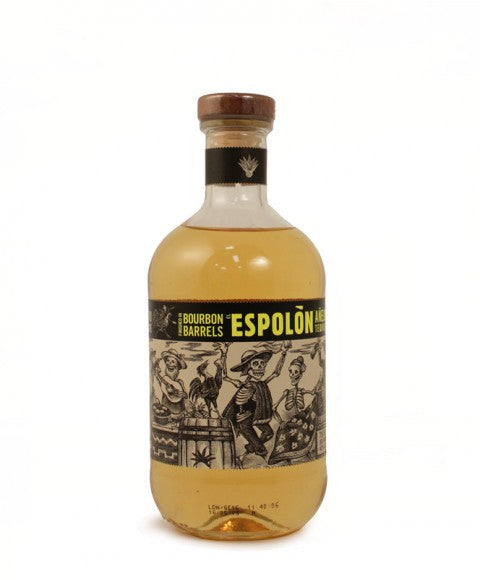Espolon Tequila Anejo Finished In Bourbon Barrels