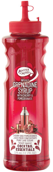 Masters of Mixes Cocktail Essentials Premium Grenadine Syrup