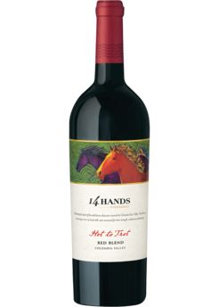 2014 14 Hands Winery Hot to Trot Red