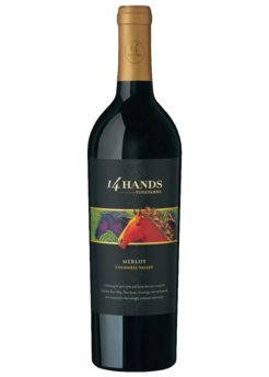 2015 14 Hands Winery Merlot