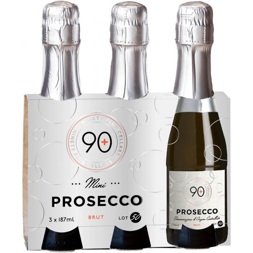 NV 90+ Ninety Plus Cellars Lot 50 Prosecco 3 PACK