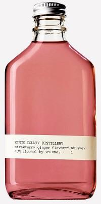 KINGS COUNTY DISTILLERY STRAWBERRY GINGER WHISKEY