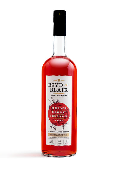 "Boyd & Blair Craft Cocktails ""Cranberry Pomegranate Lime"""