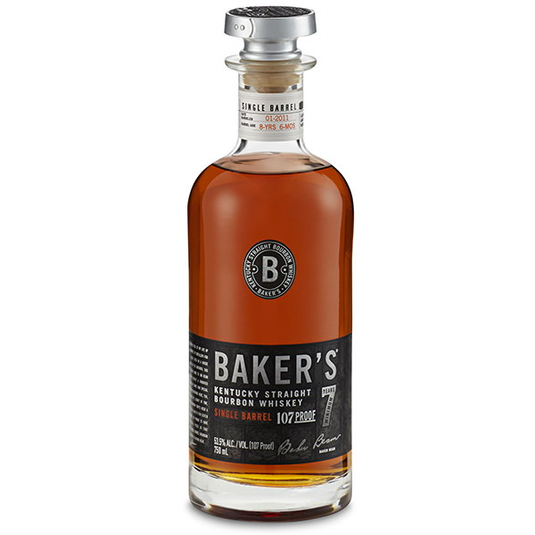 Baker's 7 Year Old Single Barrel Kentucky Straight Bourbon Whiskey