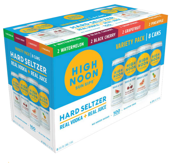 High Noon Variety Pack 8PK