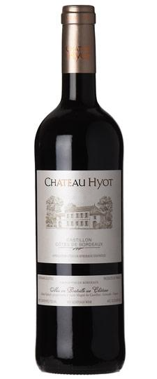 Chateau Hyot Castillon Cotes de Bordeaux Red 2018