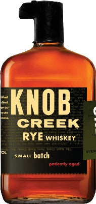 Knob Creek Small Batch Patiently Aged Straight Rye Whiskey