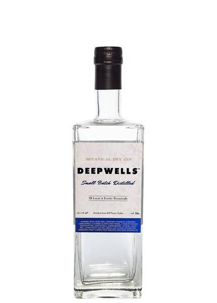 Deepwells Small Batch Distilled Botanical Dry Gin
