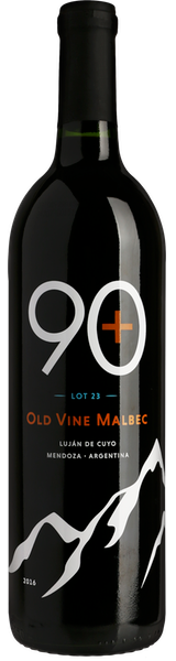 2016 90+ Ninety Plus Cellars Lot 23 Old Vine Malbec