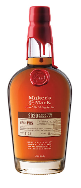 Makers Mark Wood Finishing Series 2020 Limited Release