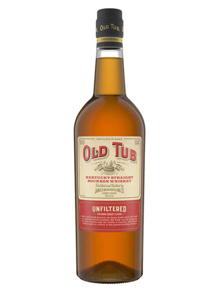 Jim Beam Old Tub Unfiltered Kentucky Straight Bourbon Whiskey