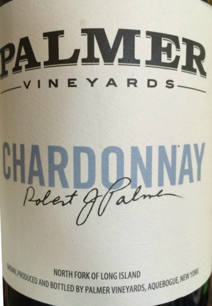 2017 Palmer Vineyards Chardonnay