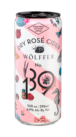 Wolffer Estate No. 139 Dry Rose Cider Cans 2017