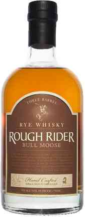 Long Island Rough Rider Bull Moose Three Barrel Rye Whisky