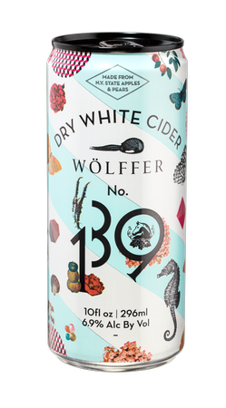 Wolffer Estate No. 139 Dry White Cider Cans 2017