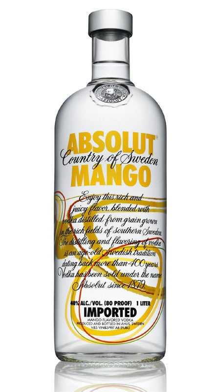 Absolut Mango Flavored Vodka