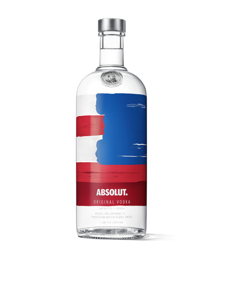 Absolut Red White & Blue