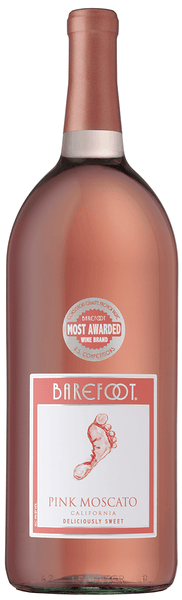 Barefoot Cellars Pink Moscato NV
