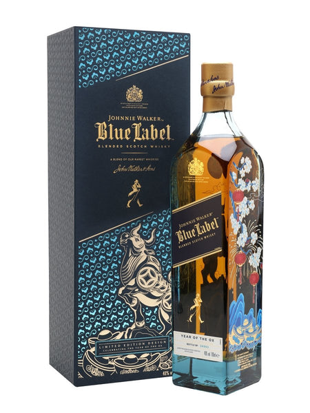 "Johnnie Walker Blue Label Blended Scotch Whisky ""Year Of The Ox"""