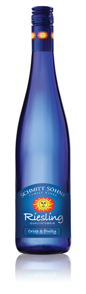 2016 Schmitt Sohne Riesling Qba Blue Bottle
