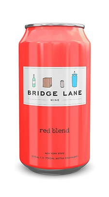 4-Pack Bridge Lane Red Blend Can