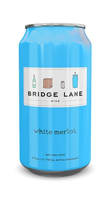 4-Pack Bridge Lane White Merlot Can