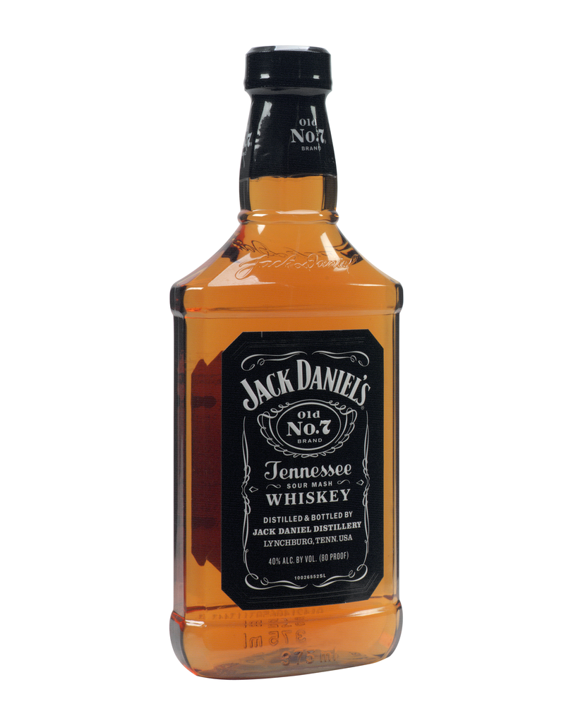 Jack Daniel's Black Label Old No.7 Brand Sour Mash Whiskey