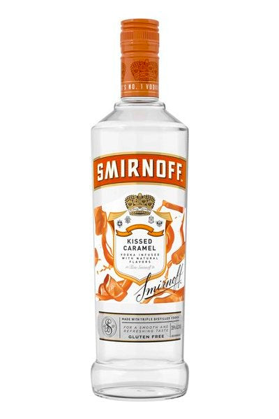 Smirnoff Kissed Caramel Vodka Pint