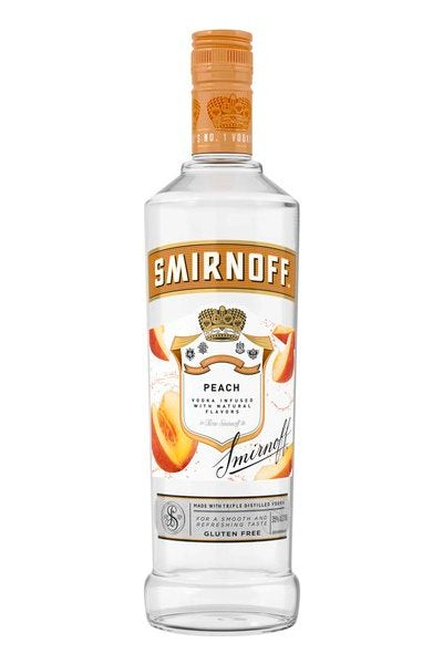 Smirnoff Peach Vodka Pint