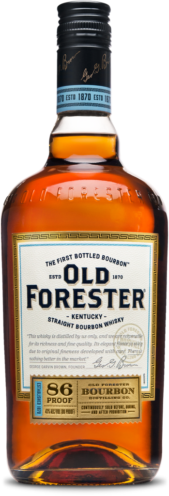 Old Forester Kentucky Straight Bourbon Whiskey 86 Proof