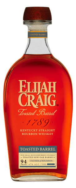 Elijah Craig 8 Year Toasted Barrel Straight Bourbon Whiskey