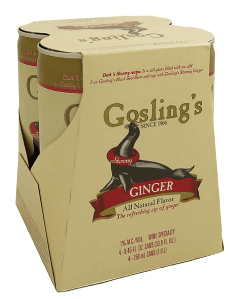 Gosling's Stormy Ginger Beer (4 Pack)