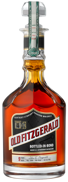Old Fitzgerald 100 Proof Bottled in Bond 9 Year Old Bourbon Whiskey
