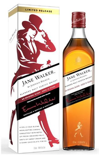 Johnnie Walker Black Label The Jane Walker Edition 10 Year Blended Scotch