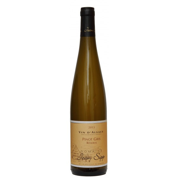 2015 Jean Sipp Pinot Gris Reserve
