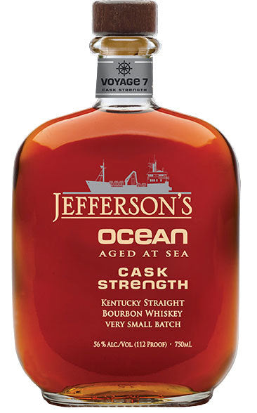 Jefferson's 'Ocean' Aged at Sea Very Small Batch Straight Bourbon Whiskey