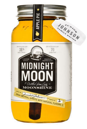 Junior Johnson 'Midnight Moon' Apple Pie Moonshine