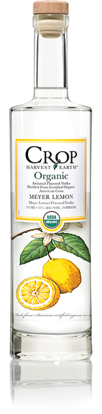 Crop Organic Lemon Vodka