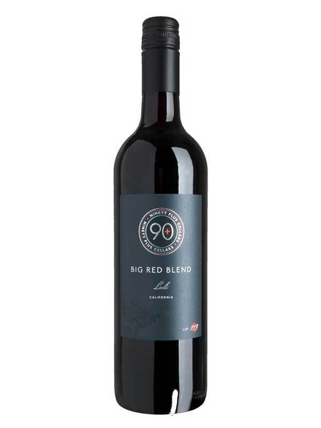 90+ Ninety Plus Cellars Big Red Blend Lot 113 2018