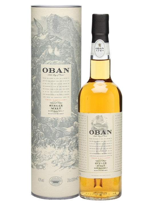 Oban 14 Year Old Single Malt Scotch Whisky