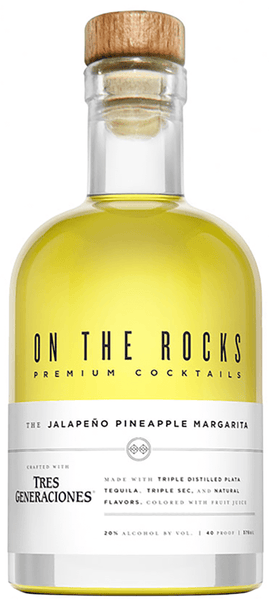 On The Rocks The Jalapeno Pineapple Margarita
