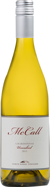 2017 McCall Chardonnay Unoaked