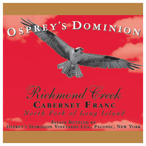 2013 Osprey's Dominion Vineyards Richmond Creek Cab Franc