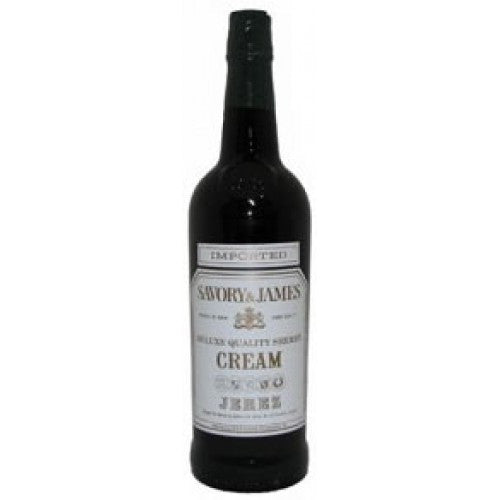 Savory & James Cream Sherry Deluxe Quality Sherry