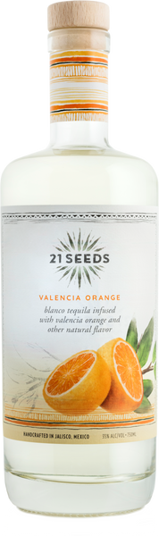 21 Seeds Tequila Blanco Valencia Orange