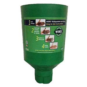 Industrial Dispenser, 3.0 - 4.5 lb, Green