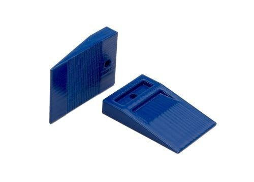 "Tavy 3/16"" Blue Wedge Spacers (100/bag)"