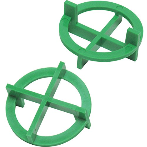 "1/16"" Tavy 4-Corner View Tile Spacers Box 500 pcs (green)"
