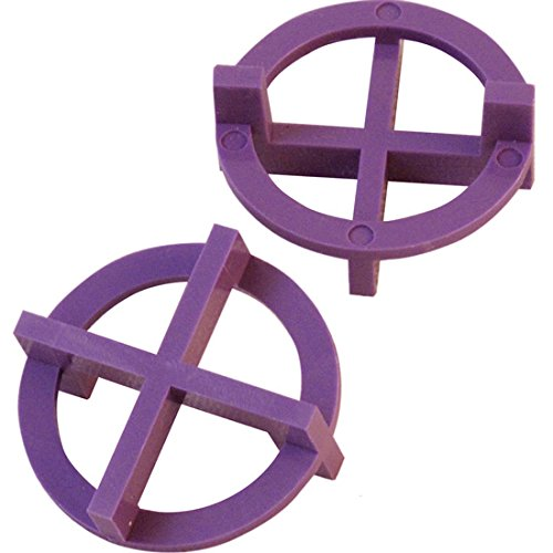 "3/32"" Tavy 4-Corner View Tile Spacers Box 500 pcs (purple)"