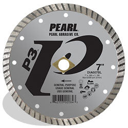 P3™ Gen. Purpose Flat Core Turbo Blade, 12mm Rim